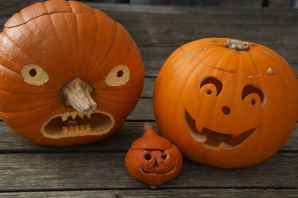 Facce Zucche Di Halloween.Zucca Volto Di Halloween Foto Gratis Su Pixabay