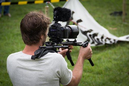 Filme, TV, vídeo, câmera, câmera fotográfica