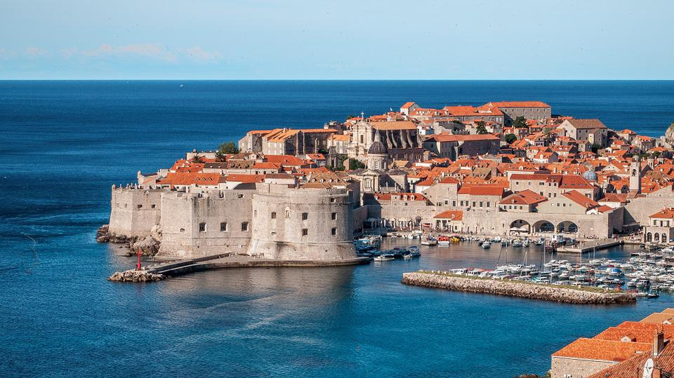 Dubrovnik, Croatia, Kings Landing, City, Town, Sea, Old