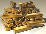 gold, ingots, golden