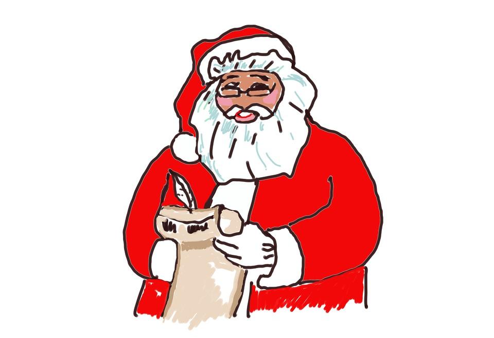 Free illustration Santa Claus Wish List Write Down Free Image – Santa Wish List Online