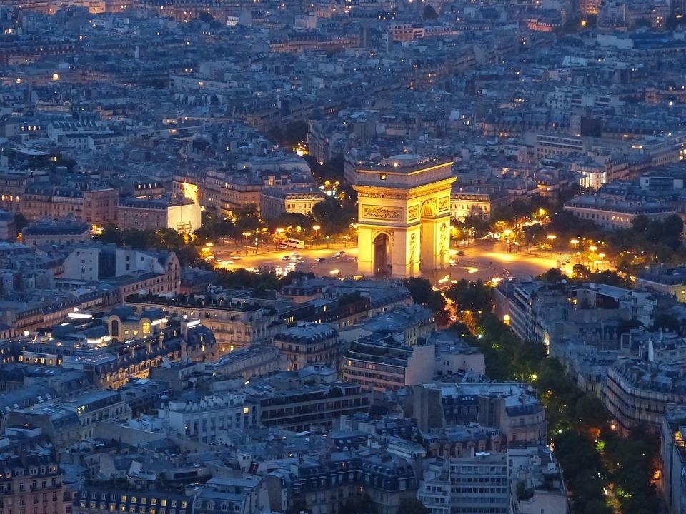 arc de triomphe paris france free photo on pixabay