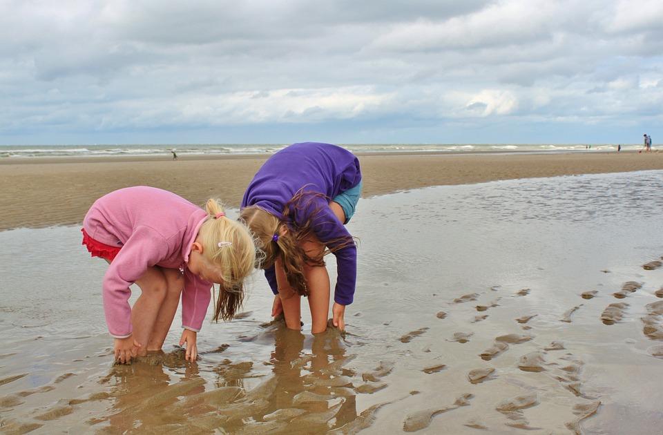 Amateurlesben An Strand