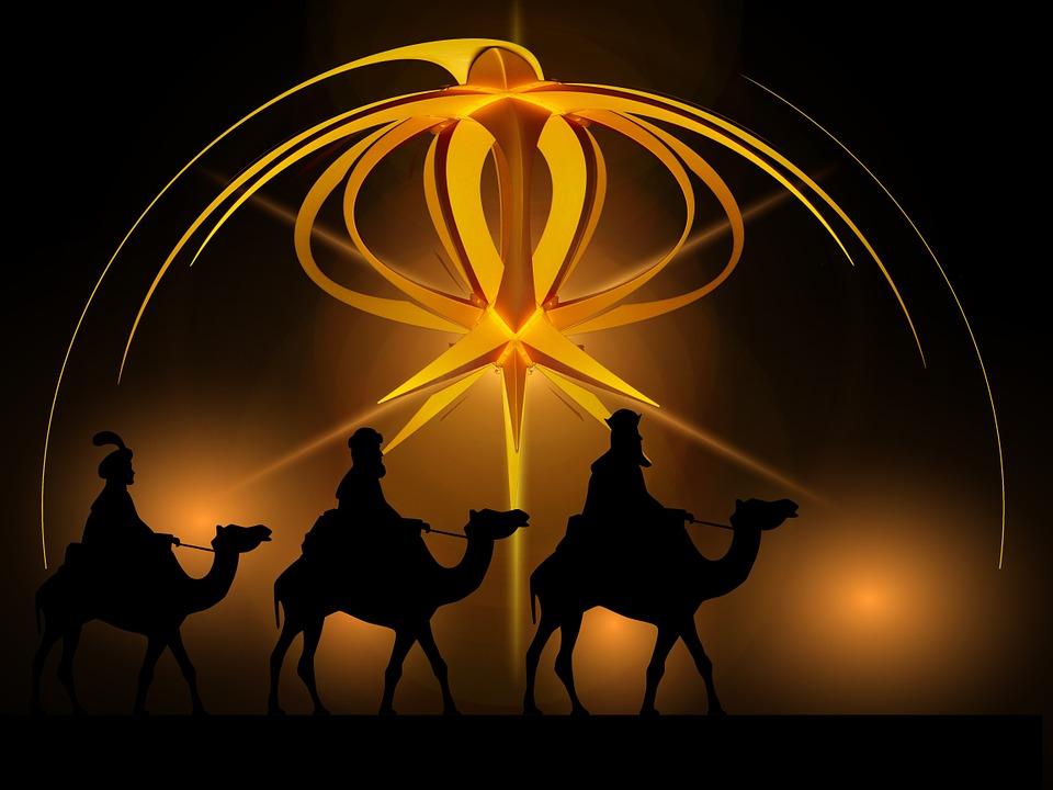 Kostenlose illustration advent stern heilige drei for Weihnachtsdeko bilder gratis
