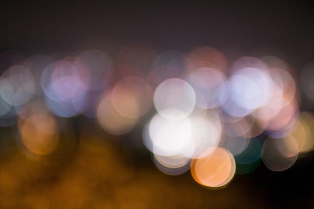 보케 야경 동그라미 · Pixabay의 무료 사진