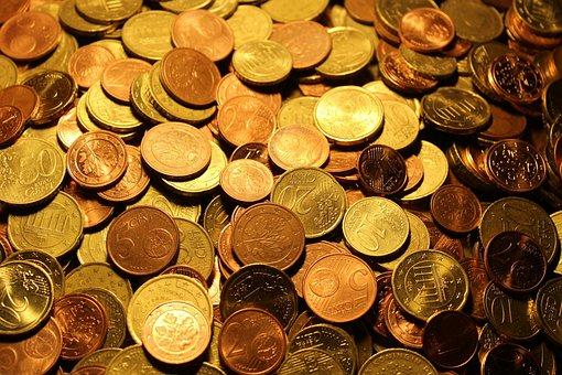 Argent, Pièces De Monnaie