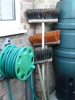Brooms, Brushes, Hose Pipe