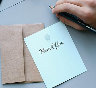 Thank You, Thanks, Card, Message, Note