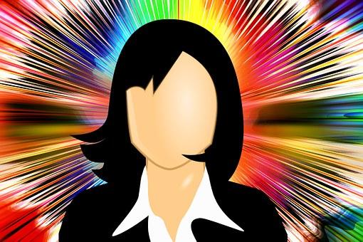 エグゼクティブ, 実業家, 国際, 光線, 女性運動, 女性の力