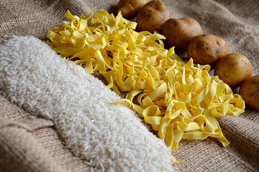 Noodles Rice Potatoes Food Eat Staple Food