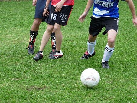 Football, Ball, Ball Sports, Rush