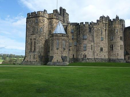 Alnwick Castle, England, Castle