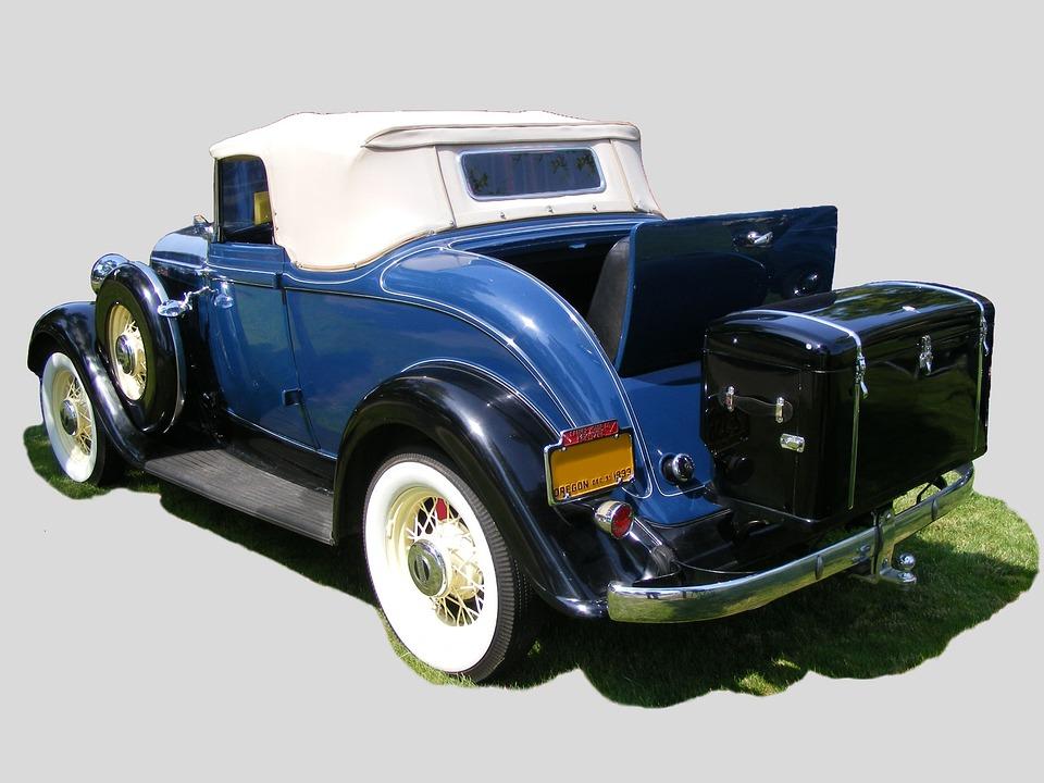 Kostenloses Foto Oldtimer Plymouth Cabrio 1933