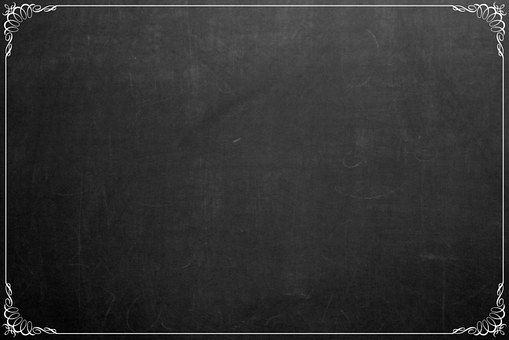 Chalkboard Background Decorative Frame Bla