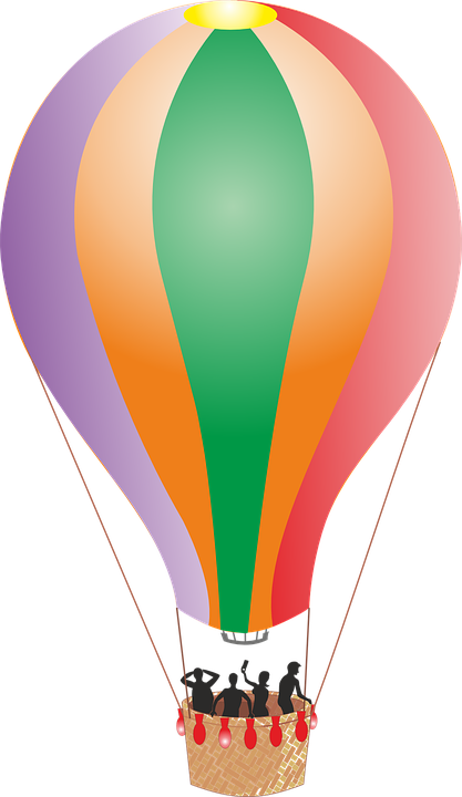 Sicak Hava Balonu Balon Gezi Pixabay Da Ucretsiz Vektor Grafik