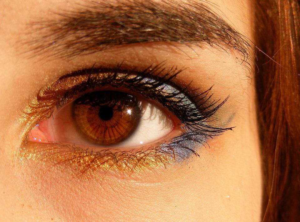 Bruin, Bruine Ogen, Iris, Gen, Licht, Eye, Brown