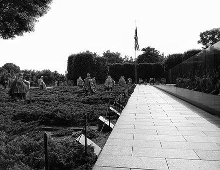Monument, Korean War, Memorial, War