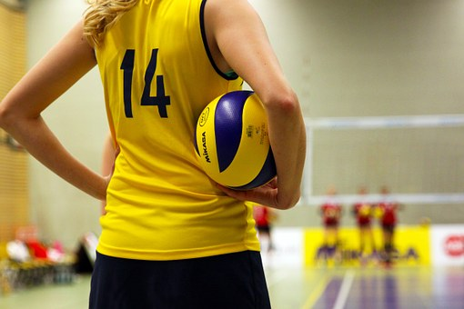 Volleyball, Sport, Ball, Volley