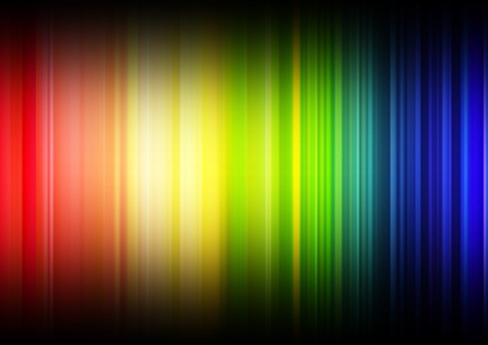 Lines, Rainbow Colors, Spectrum, Color, Colorful