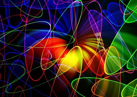 混沌模式_分形, 模式, 抽象, 混乱, 混沌, 混沌理论, 计算机图形学, 颜色