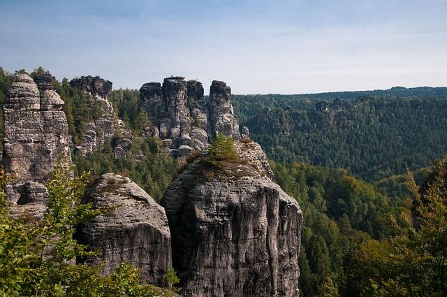 Free Photo Elbe Sandstone Mountains Free Image On