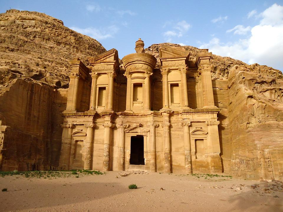Free photo: Petra, Jordan, Middle East - Free Image on ...