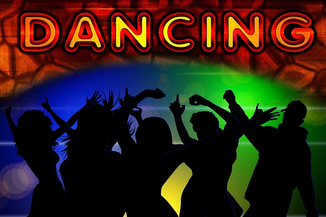 Illustration gratuite danse c l brer bo te de nuit for Musique barre danse classique gratuite