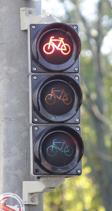 Fahrradampel Ampel Rot Kostenloses Foto Auf Pixabay