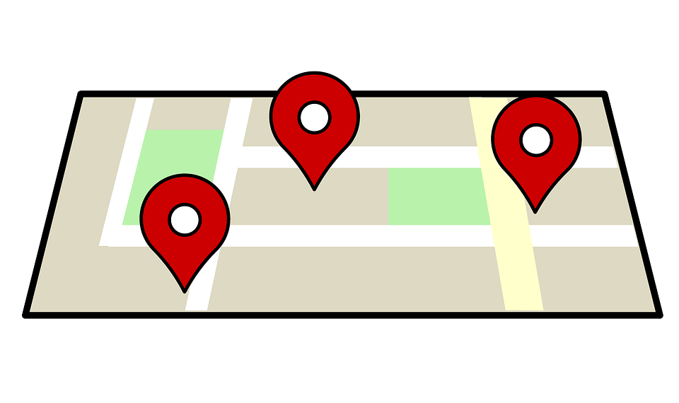 Pin Location Map Free Vector Graphic On Pixabay: Free Illustration: Map, Location, Navigation, Symbol