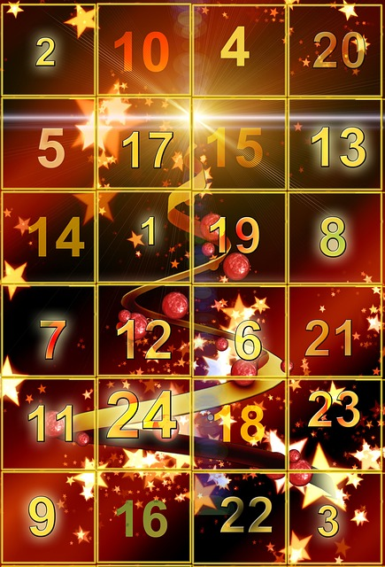 Kostenlose Illustration Adventskalender T 252 Rchen Golden