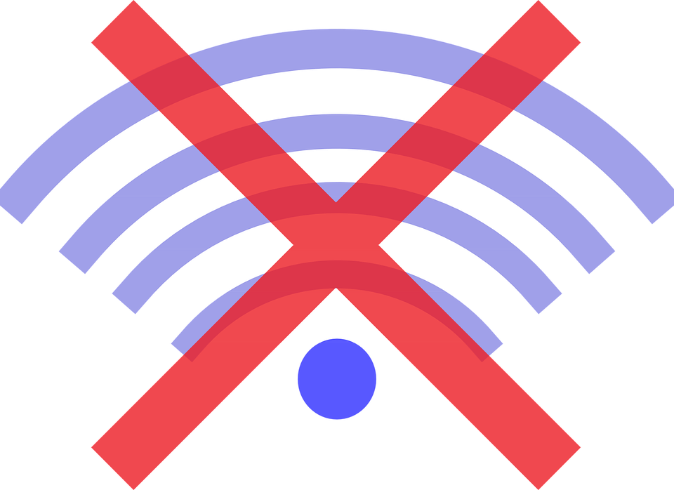 Offline, Disconnected, Wifi, Network, Disconnect, Icon