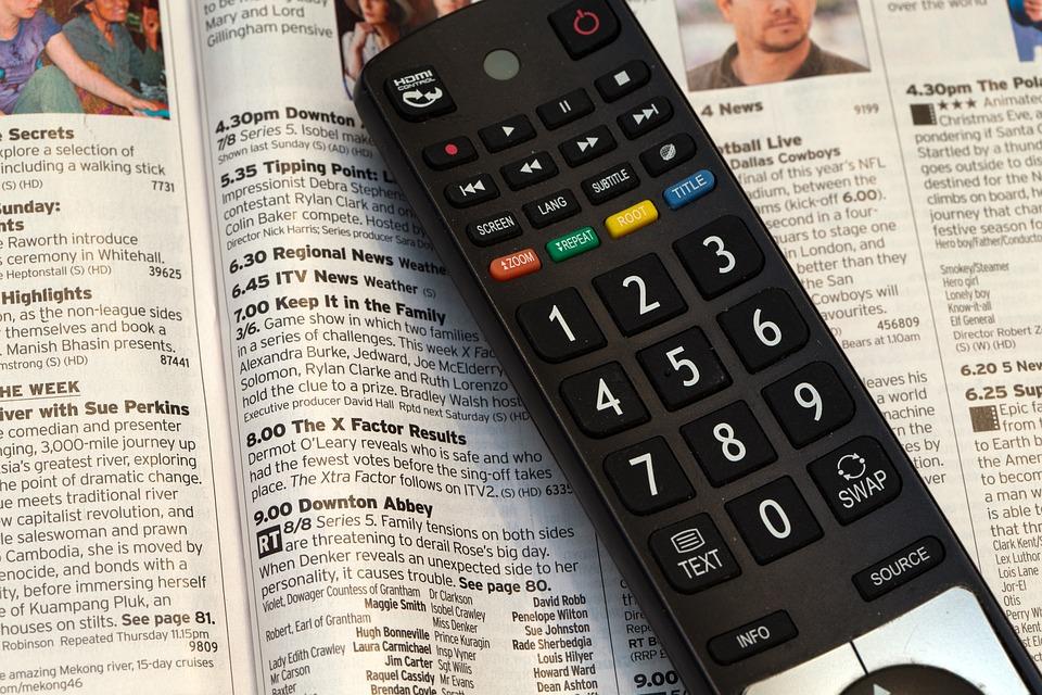 Control Remoto De Televisión, Programa De La Televisión