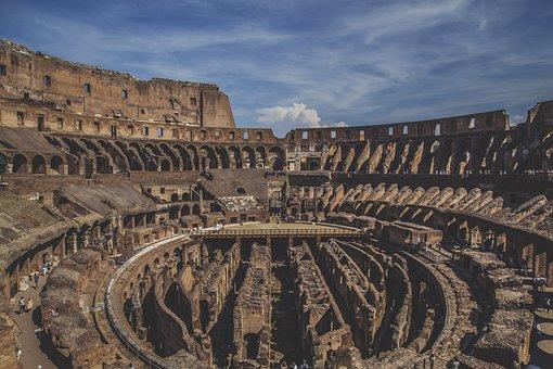Colosseum Europe Rome Roma Italy Italian R