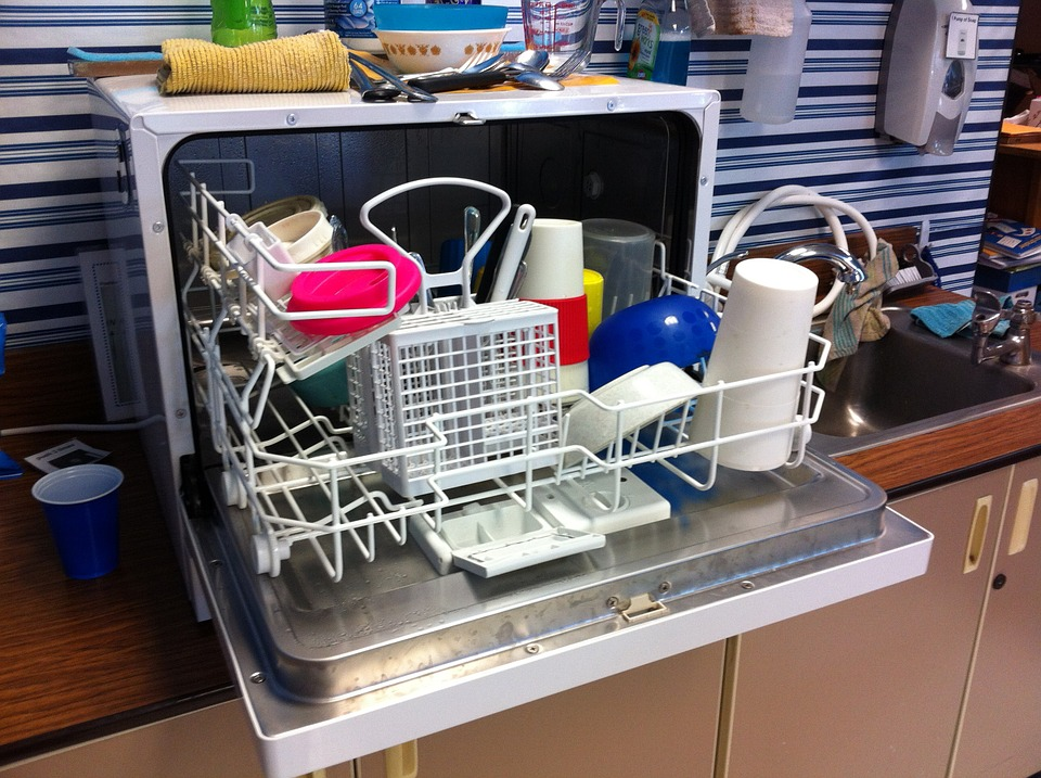Dishwasher on the side
