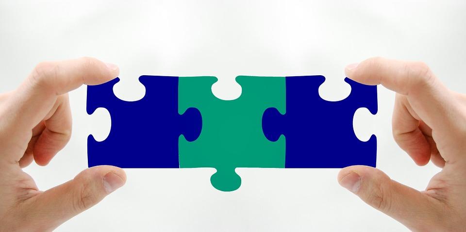 Kostenlose Illustration Puzzle Teile Gemeinsamkeit