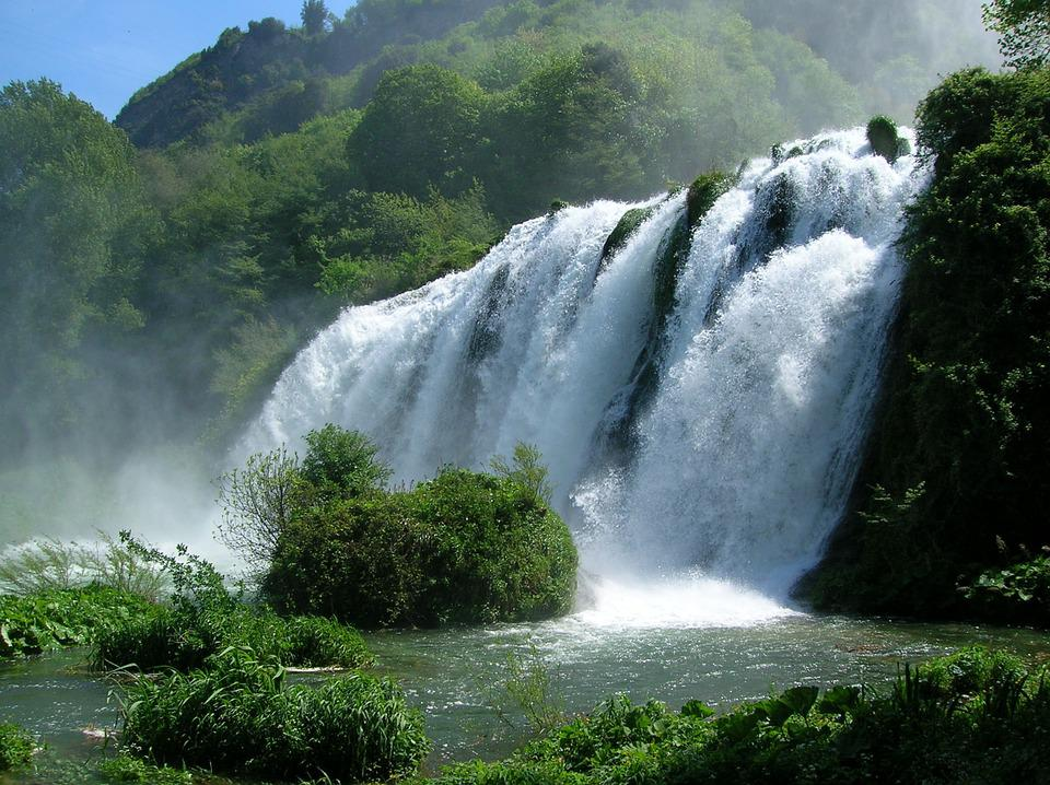 Le Cascate delle Marmore, la Valnerina e le Terme di Orte