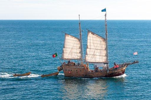 Bateau De Pirates, Pirates, Navire