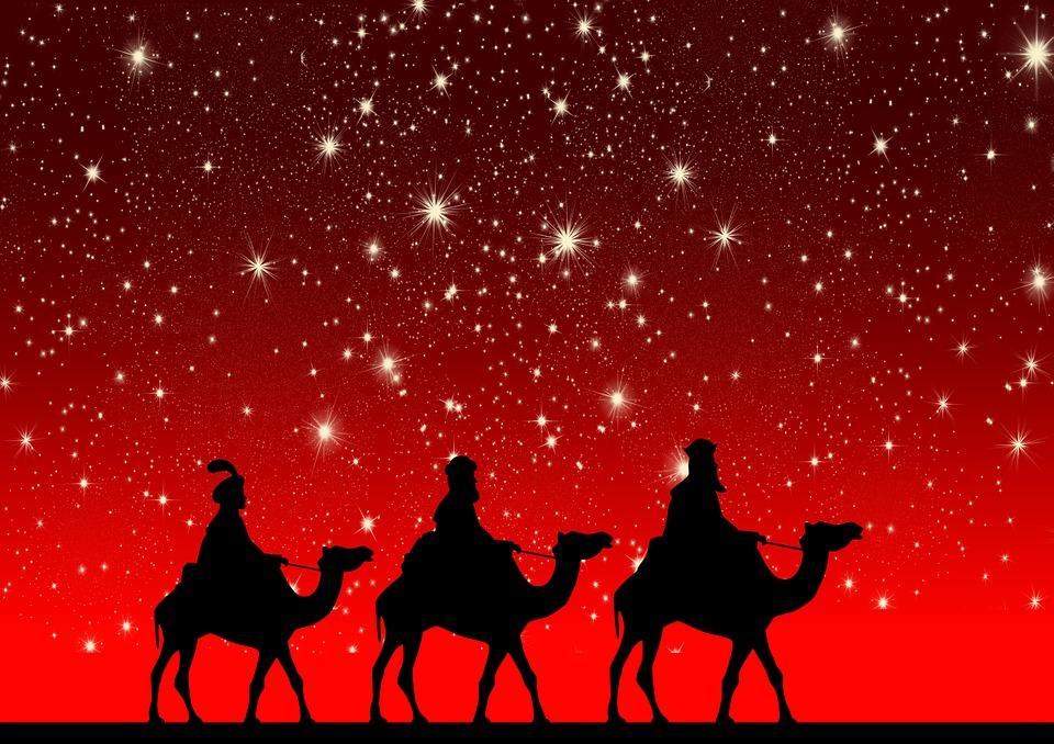 Hellige Tre Konger Kameler Ridning Gratis Billeder På Pixabay
