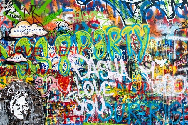 Free Photo Graffiti John Lennon Wall Wall Free Image