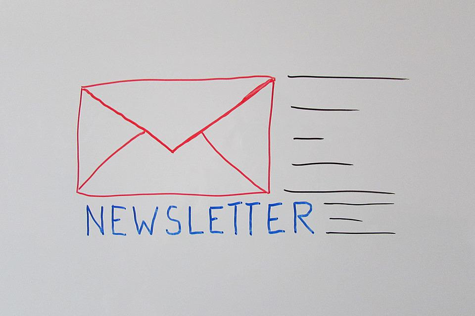 Newsletter, Email, E Mail, Message, Sketch