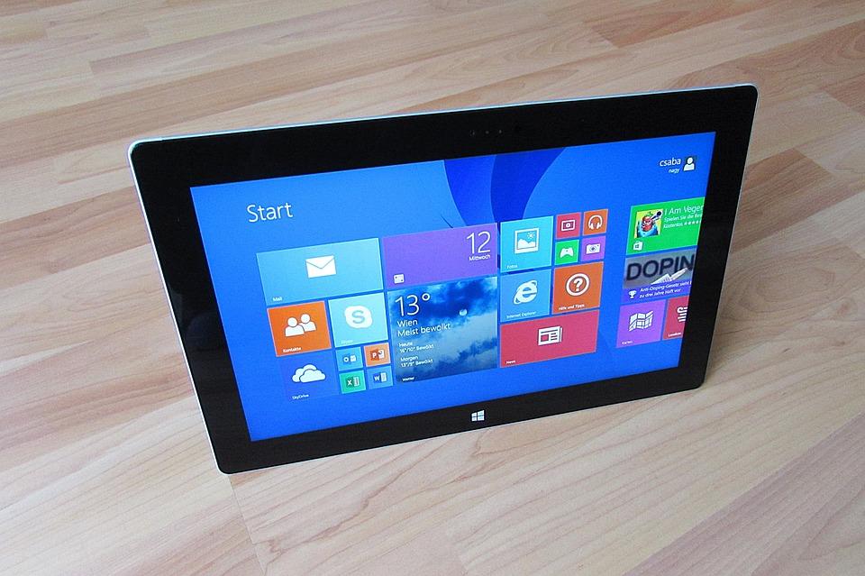 Tablet Pc, Tablet, Pantalla Táctil, Microsoft