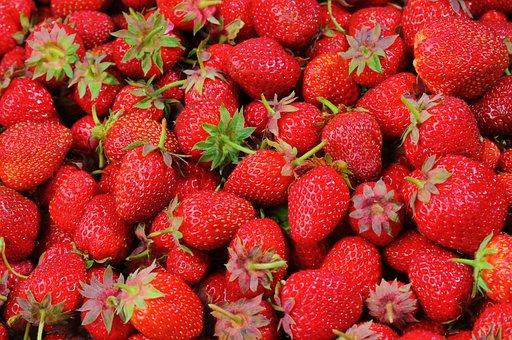 Strawberries, Berries, Fruit, Freshness