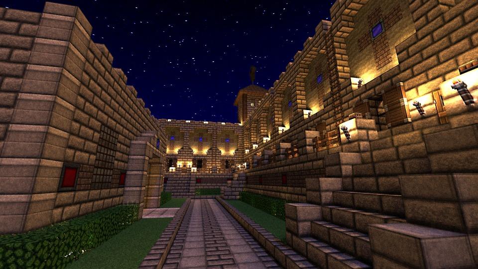 Vaak Minecraft Kasteel S Nachts · Gratis afbeelding op Pixabay @YF49