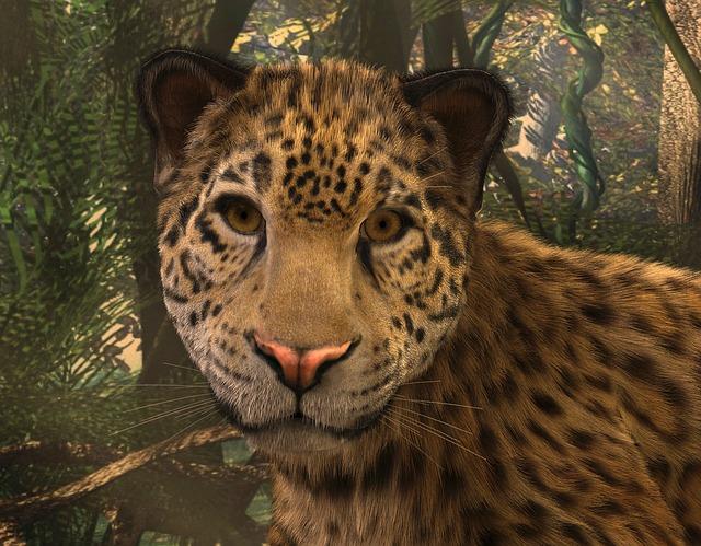jaguar face illustration - photo #32