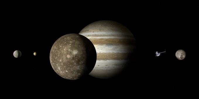 Jupiter Callisto Jupiter Moon Moon Galilei