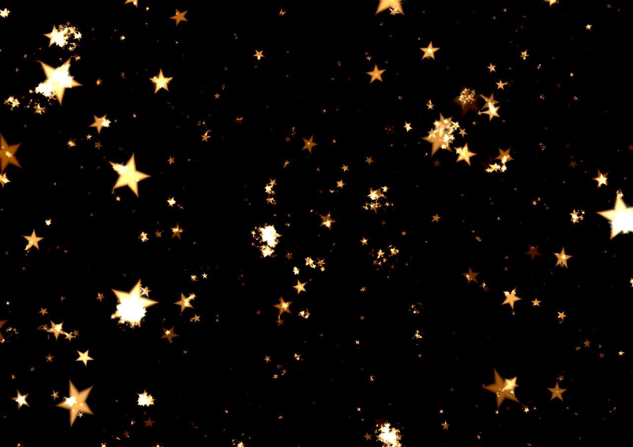 Ночь со звездочками картинки