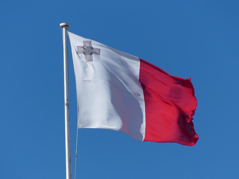 Flag, Malta, Brier, Blow
