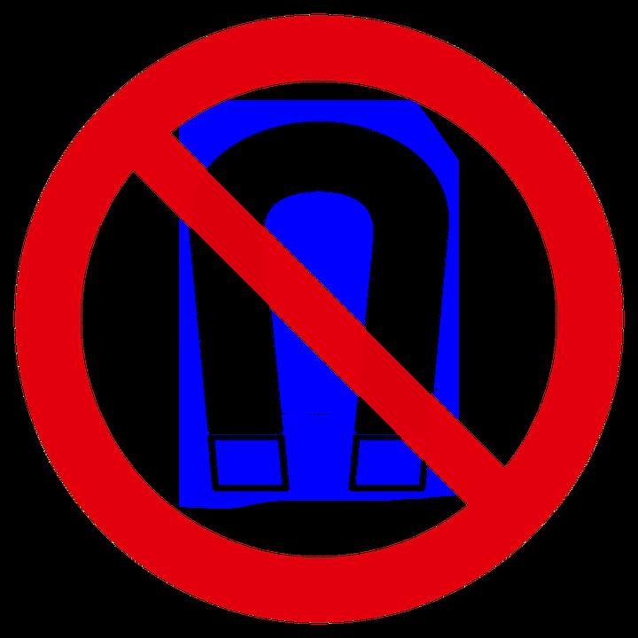 Magnetic Field Ban Prohibitory Free Image On Pixabay