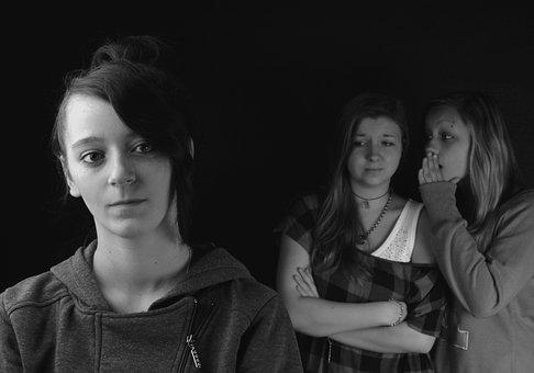 Gossip Girls Group Portrait School Judging