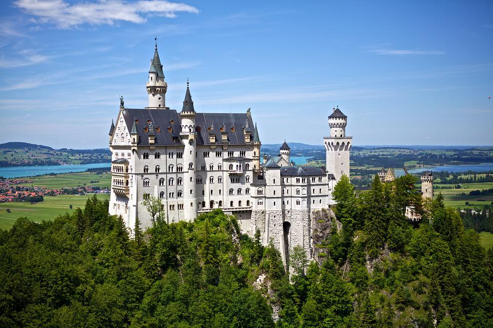 Fairytale, Neuschwanstein, Castle, New Swan Castle